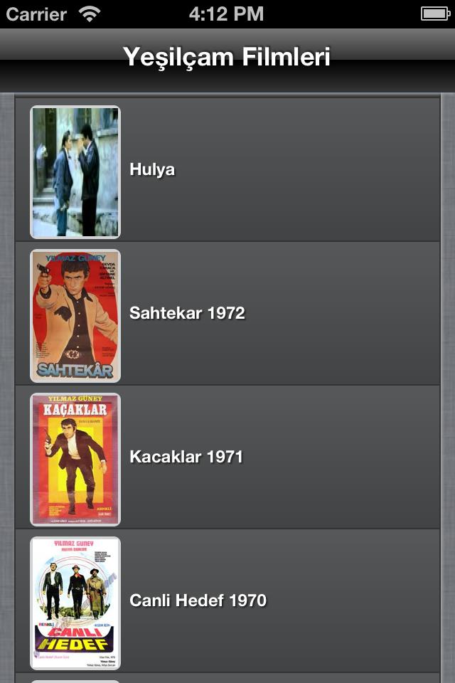 Image of Yeşilçam Filmleri izle for iPhone
